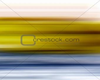Yellow Blue Blur Background