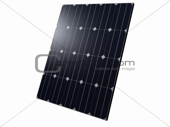 close up of solar panels