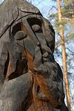 Wood idol