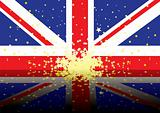 british flag reflect
