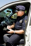 Police - Writing Citation