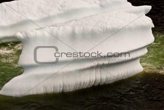 Beautiful worn Iceberg