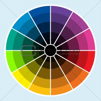Color Wheel - Dark