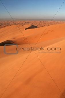 Erg Chebbi sand dunes sunrise