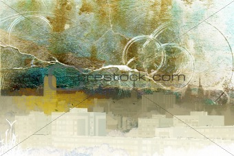 Abstract town