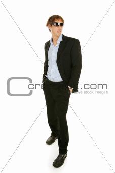 Male Model in Sunglasses - Full Body
