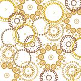 Vector beautiful circles background