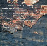 Textured grungy brick background