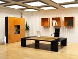 modern cabinet interior