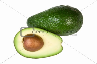 Avocado Isolated