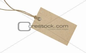 Blank Cardboard Tag