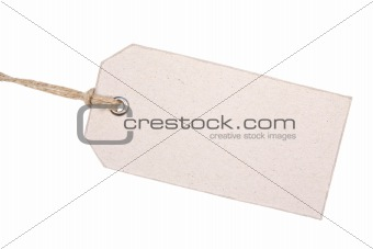 Old Cardboard Label