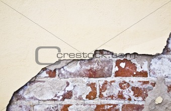 Brocken Brick Wall