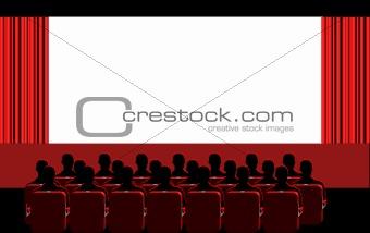 Cinema - red room