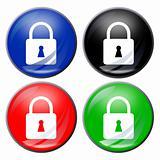 padlock button
