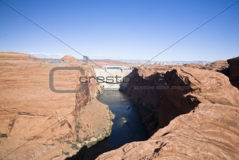 Glen Canyon Dam Page Arizona (MS)