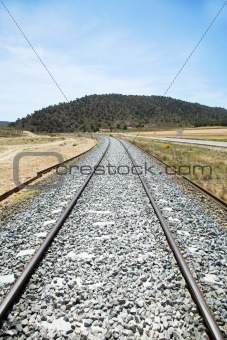 old rail train