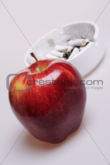 Say No to Cigarettes, Say Yes to Apple.