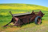 Old Farm Harvester