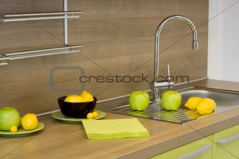 the modern kitchen detail