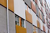 New modern executive apartments, stock photo