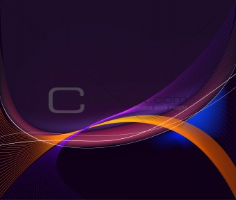 Abstract  artistic   background  vector illustration