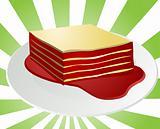 Lasagna illustration
