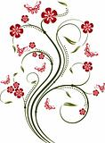 Decorative element for design, vector