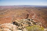 Moki Dugway Overlook Utah USA (IG)