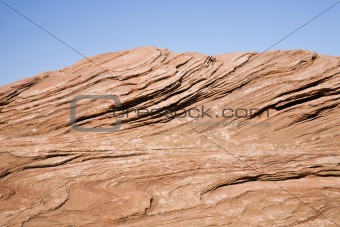 Red Sandstone - Blue sky USA (MR)