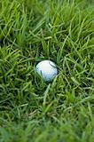 Bad golf ball lie