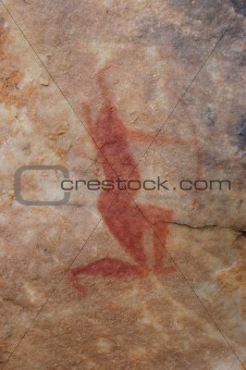 Ancient bushman art