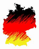 Map of germany  (WS)