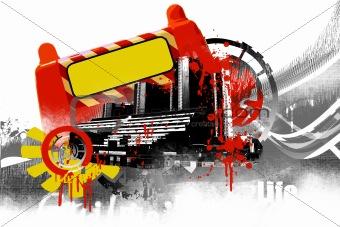 city emo illustration