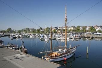 Calm morning in Nyborg Marina