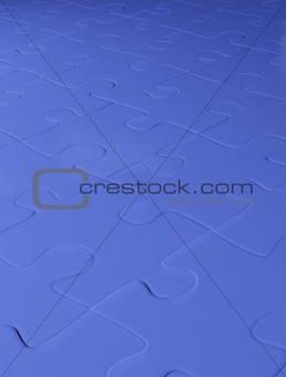 Abstract background from puzzle combined together