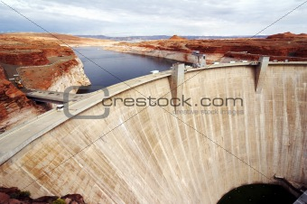 Glen Canyon Dam Page Arizona (MG)