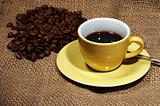 cup of coffee and beans  (RW)
