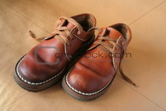 pair leather boots