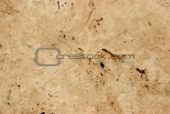 Travertine-stone background - close-up