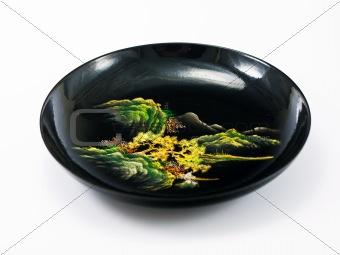 Ancient China tea saucer