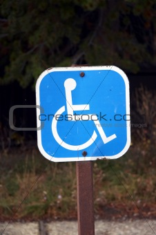 RESERVED FOR HANDICAPPED USA (LL)