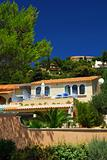 Gardens and villas on French Riviera