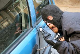 burglar car