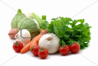 Vegetables composition