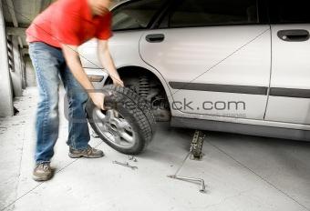 Quick Wheel Change