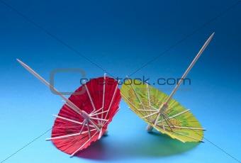 Asian cocktail umbrellas