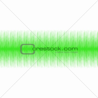 Green Audio Wave