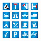 road signs (vector)