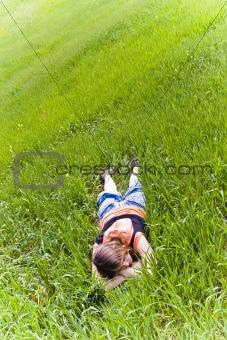 Beauty on grass